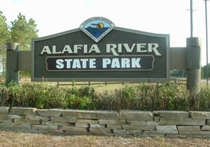 Alafia Entrance Sign