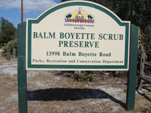 Boyette Entrance Sign